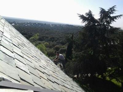 tejados de pizarra