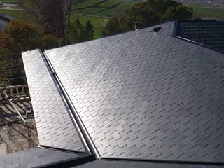 Arreglo de cubiertas y tejados de pizarra