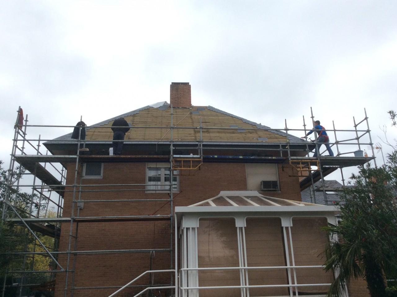 reparacion de tejados de pizarra en madrid