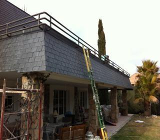 cubierta tejado pizarra profesional
