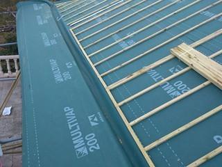 cubiertas de pizarra con doble rastrel