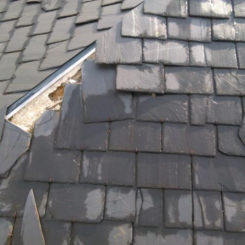 E1 colocar pizarra tejado naturtejados - Tejados de pizarra ...
