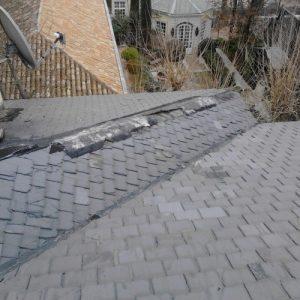 goteras tejados pizarra madrid