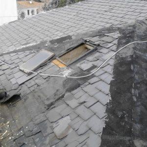 tejados de pizarra en cubiertas de madrid